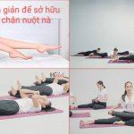 3 bài tập chân giúp đôi chân thon dài