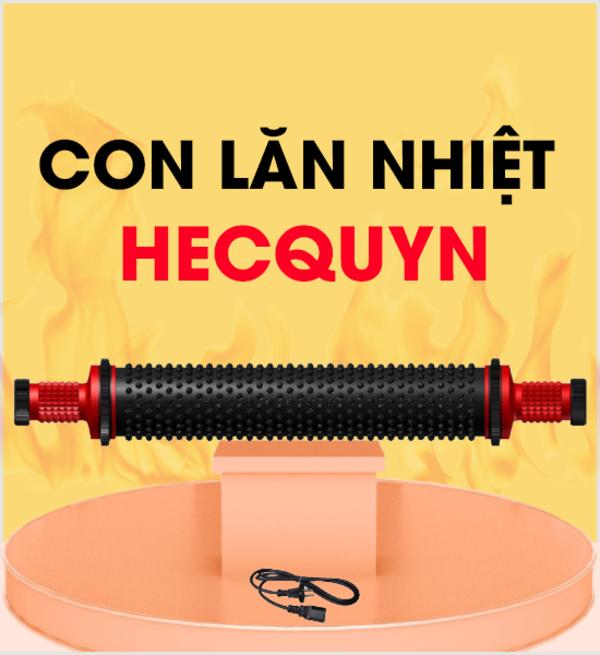 Con lăn nhiệt Hecquyn là dụng cụ chữa đau cổ vai gáy rất được ưa chuộng