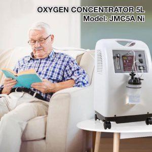 Máy tạo oxy Jumao 5L JMC5A đạt đầy đủ các tiêu chí của một máy tạo oxy chuẩn chất lượng